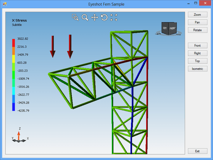 Truss Finite Element Analysis
