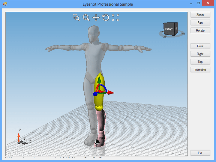 Object manipulator in action