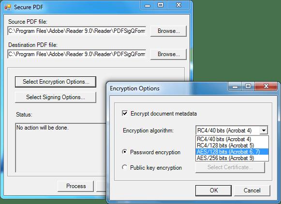 Screenshot of SecureBlackbox .NET Data Security - Vendor