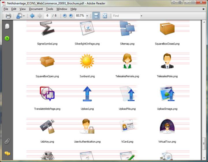 NetAdvantage ICONS: Includes many useful command icons.