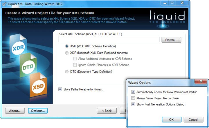 Screenshot of Liquid XML Studio Starter Edition - Concurrent Licenses
