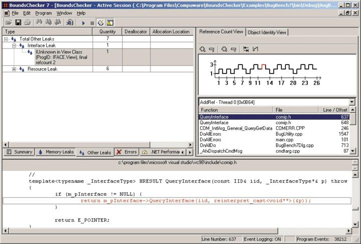 Monitor Component Calls