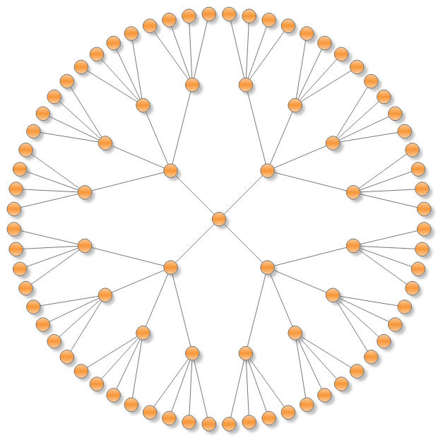 Radial Graph Layout