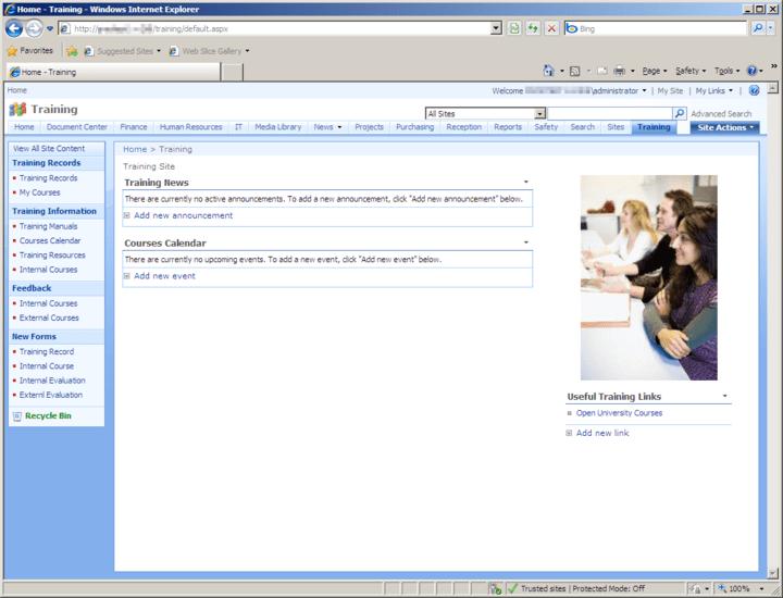 Screenshot of Office Talk Bumper Pack Templates for SharePoint