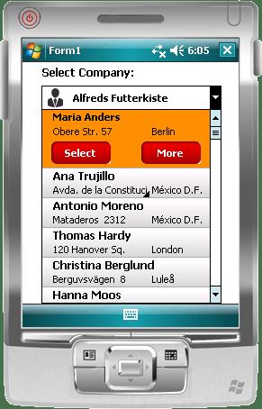 AdvancedCombo for .NET CF