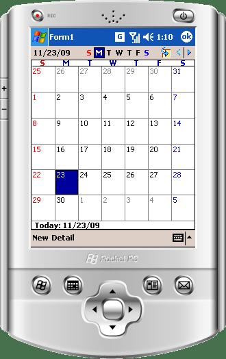 Outlook Style Calendars