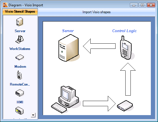 Screenshot of Syncfusion Essential Diagram for Windows Forms