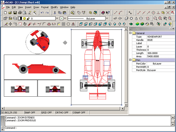 Coordinate Systems: VectorDraw provides two coordinate systems: a fixed coordinate system called the World Coordinate System (WCS) and a moveable coordinate system called the Current Coordinate System (CCS). There is also another coord. system that is the Display Coordinate System (DCS). This coord. system is defined from the posistion (view) that the user looks at the drawing.